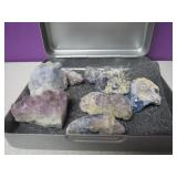 Blue & Purple Healing Crystal Collection Amethyst