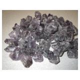 1lbs Of Rough Amethyst Crystals