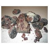 Rough Natural Garnet Stone Specimens