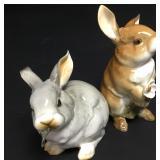 Hutschenreuther Porcelain Rabbits