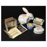 Vtg Italian Porcelain Rabbit Etc