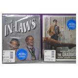 2 New Sealed Blu Ray Moveis Graduate/In Laws
