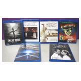 Lot OF 6 Blu Ray Movies Frankenstein Etc