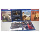 Lot Of 6 Blu Ray Movies