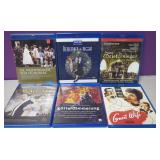 Lot Of 6 Assorted Blu Ray Movies