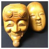 Dragonfly Jumeau Wood Mask Boxes