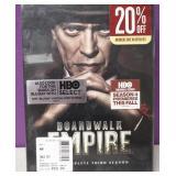 New Sealed Boardwalk Empire Blu Ray 3rd Season