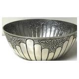 Antique Abrama Silver Tone Bowl