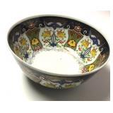 Large Handpainted Japanese Porcelain Imari Bowl