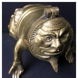 """Levenger Brass Money Man Bank 4"""""""