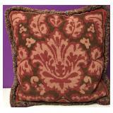 Custom Needlepoint FLuer De Lis Pillow
