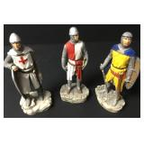 Lot Of  Italian Madrigale The Crusades Figures