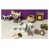 Porcelain Antique Bowl Collectibles Etc