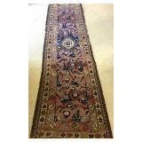 1960s Afghani Turkmen Baluch Wool Pile Rug