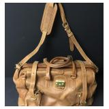 Mulholland Brothers Leather Carry On Bag