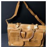 Vtg Leather Marley Hodgson Ghurka No.2 Express Bag