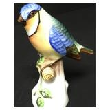 Herend Hungarian Hand Painted Porcelain Bird