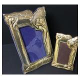 Victorian Art Nouveau Sterling Picture Frames