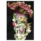"""19th Century Old Paris Art Nouveau Ewer Vase 19"""""""
