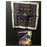 Vintage Honey Bee Needlepoint Embroidery Kit