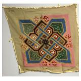 Vintage German Flower Needlepoint Embroidery Kit
