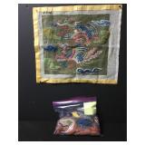 Vintage Chinese Birds Needlepoint Embroidery Kit