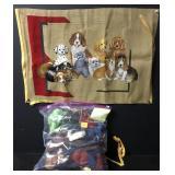 Vintage Dog Buddies Needlepoint Embroidery Kit