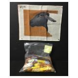 Vintage Black Sheep Needlepoint Embroidery Kit