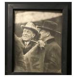 Primitive Frame & Antique Photo