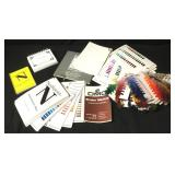 Needlepoint Thread Sample Color Book Collection