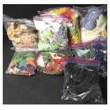 Assorted Bags Of Needlepoint Skeins