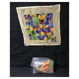 Vintage French Birds NeedlePoint Tapestry Kit