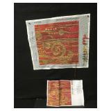 Ehrman Candace Bahouth Red Klimt Needlepoint