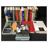 Mainly Hardback Books Collection Truman Capote Etc