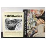New Yorker Covers & Herbert Block Coffee Books