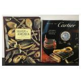 Cartier & Silver In America Hardcover Books