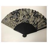Chinese Silk Folding Hand Fan