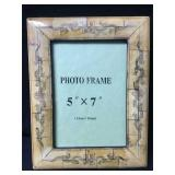 """Chinese Scrimshaw Bone 5""""x7""""  Picture Frame"""