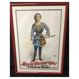 Russel Morgan Chromolithographed Theatrical Poster