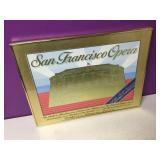 Vtg San Francisco Opera 1982 Gold Gilt Art Framed