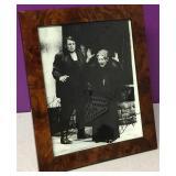 Vintage Framed Opera Autographed Photograph