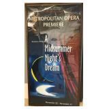 "Original Met ""A Midsummer Nights Dream"" Poster 84"""