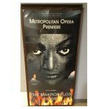"""Original Met Opera The Makropulos Case Poster 84"""""""