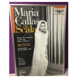 Maria Callas Teatro Alla Scalla Opera Poster