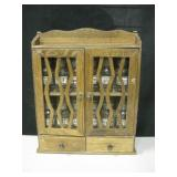 """12"""" X 12"""" Wall Spice Cabinet"""