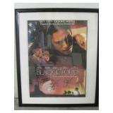 "NM Premiere ""Black Cloud"" Film Poster - Signatures"