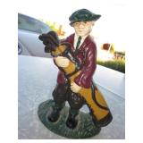 "8"" Cast Iron Golfer Doorstop"