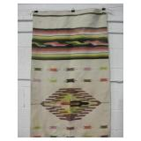 "Central American Native Wool Poncho - 30"" Wide"