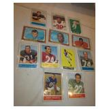 VTG 1950s-60s Football Card Lot