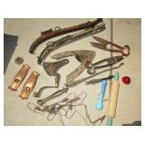 Lot of Assorted VTG/Antique Tools